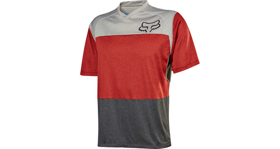 Fox Indicator SS Jersey Men heather/red